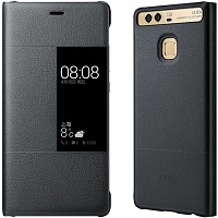 Huawei View Flip Cover - Case - Dark gray