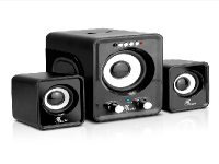 Xtech XTS375BK - Speakers - Wired