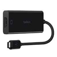 Belkin USB-C to HDMI Adapter - Adaptador de vídeo externo - USB-C