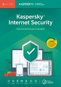 Kaspersky Internet Security Latin America Edition - Download / Electronic - 5 devices