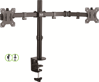 "Klip Xtreme - Monitor mounting kit - Double 13""-32"""
