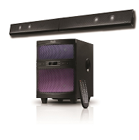 Klip Xtreme KSB-250 - Sound bar - Wireless