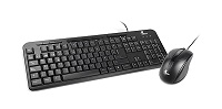 Xtech - Keyboard and mouse set - Wired